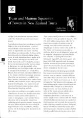 Trusts and Mutton - Separation of Powers in New Zealand Trusts - Rothschild - February 2008