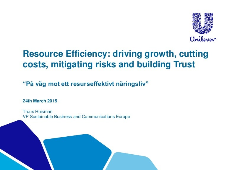 resource efficiency: driving growth, cutting costs, mitigating risks …, Presentation templates