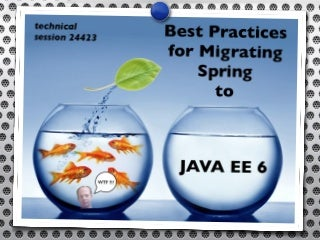 Migrating Spring Applications to Java EE 6