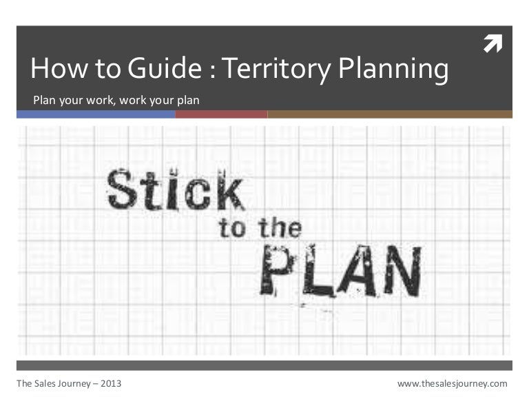 Territory Planning The Sales Journey – Sample Territory Sales Plan