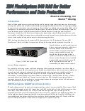 IBM FlashSystem 840 RAS for Better Performance and data Protection
