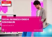 Die T-Systems Multimedia Solutions im Social Business Vendor Benchmark
