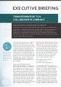 Transforme su compañía en una empresa colaborativa