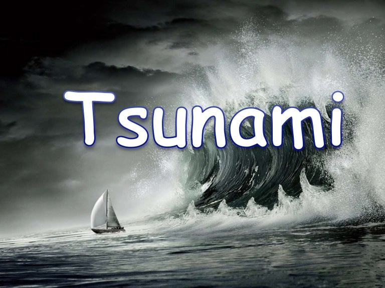 essay about natural disaster tsunami