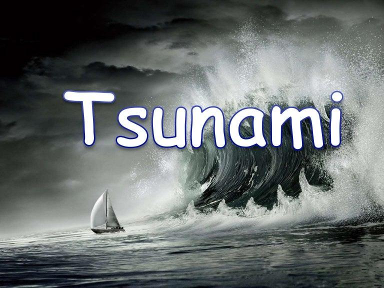essay about natural disaster tsunami