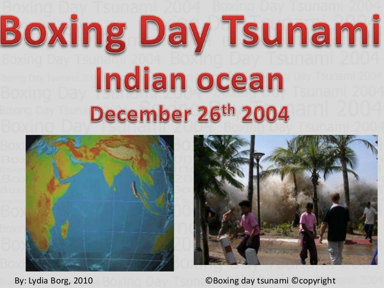 boxing day tsunami