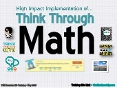 High Impact Implementation of Think Through Math