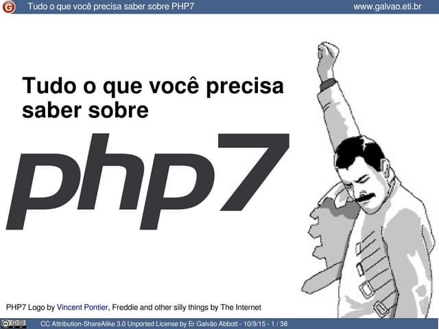 Tudo o que você precisa saber sobre o php7