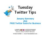 Tuesday Twitter Tips: Summary & FREE Twitter Guide for Business