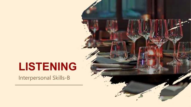Tugas listening interpersonal skills b_4520210087_dimas candra pratama