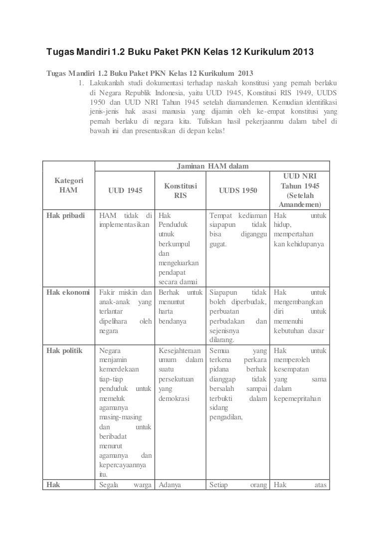 Jawaban Sejarah Indonesia Kelas 12 Revisi 2018 Hal 88