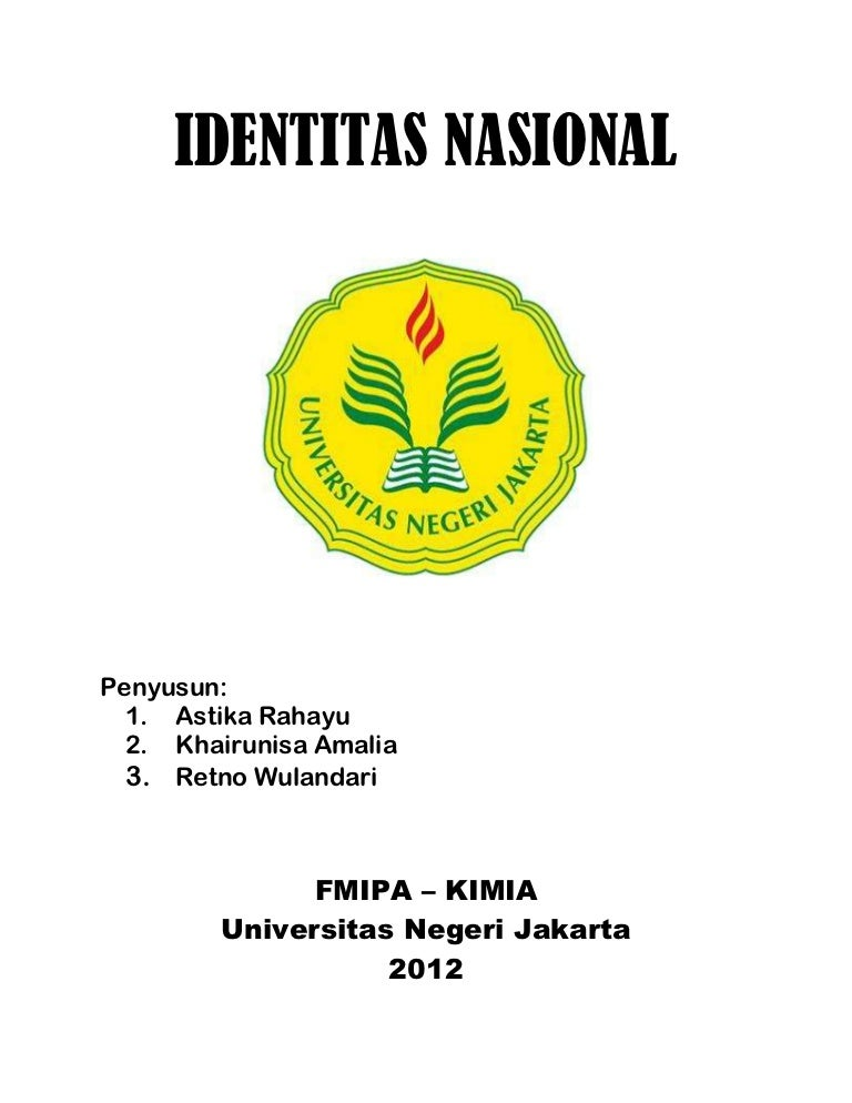 Doc Makalah Identitas Nasional Dan Globalisasi Shofia Azza Academia Edu