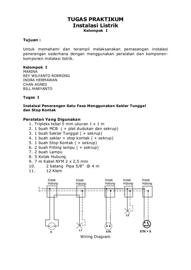 Tugas Praktikum Instalasi Listrik Wiring Diagram Gedung Tugaspraktikuminstalasilistrik 171116214710 Thumbnail 4cb1510868864