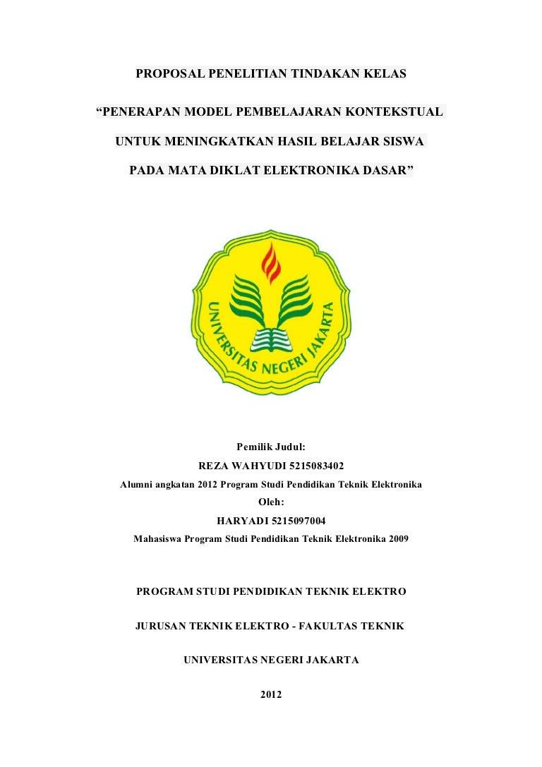 Contoh Judul Skripsi Ptk Bahasa Indonesia Kumpulan Berbagai Skripsi