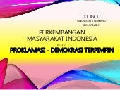 Proklamation 'till Guided Democracy