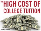 Tanner Caputo | The High Cost of College Tuition