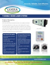 Tunable Diode Laser - Part of Continuous Emissions Monitoring System