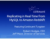Replicating in Real-time from MySQL to Amazon Redshift