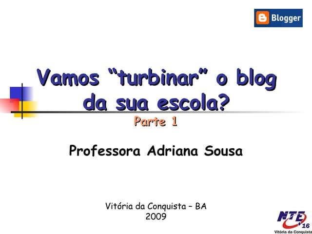 Turbinando o blog...