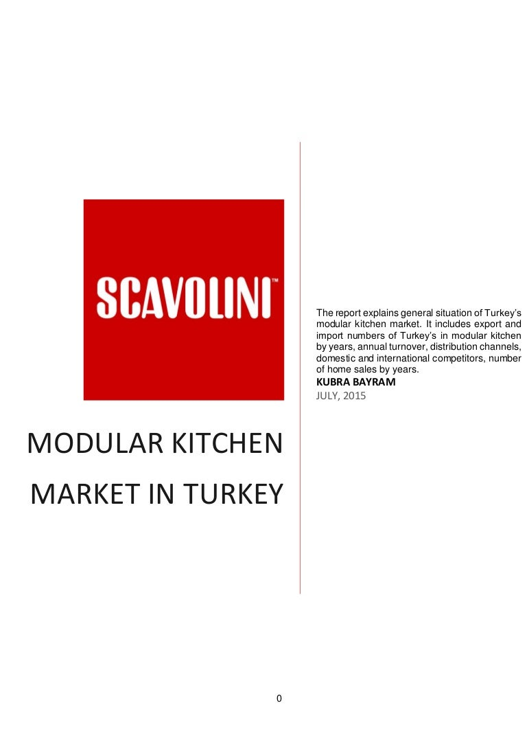 Turkey\'s modular kitchen sector analysis