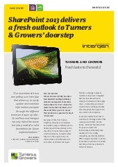 Turners & Growers (case study)