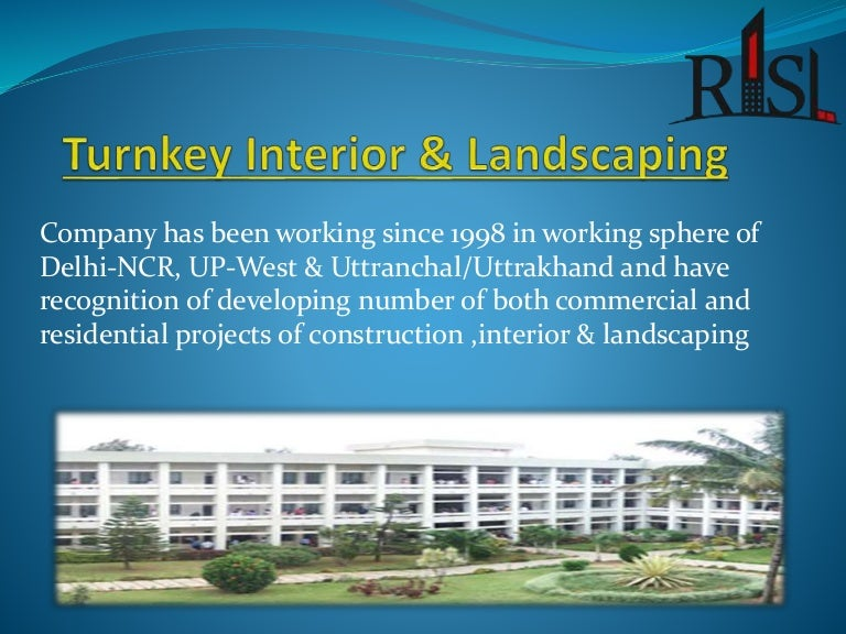 Turnkey Construction Turnkey Interior Turnkey Landscaping Companies