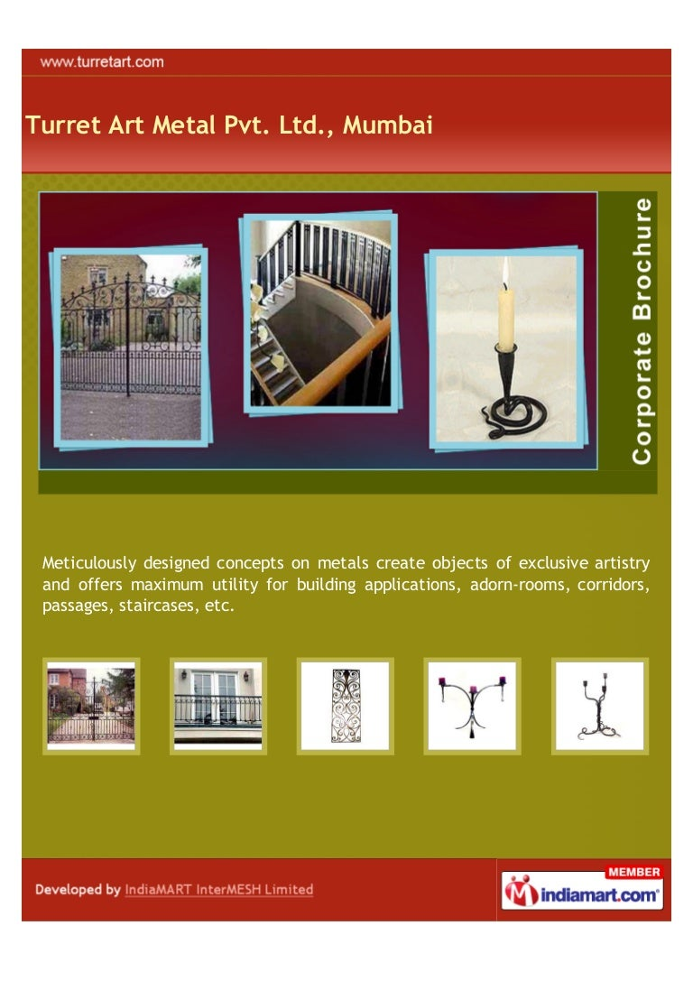 Turret Art Metal Pvt. Ltd., Mumbai, Ornamental Entrance Gates