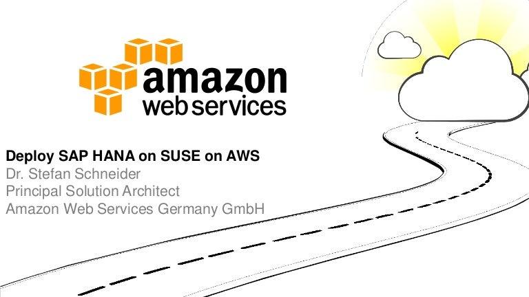Aws Gmbh sap hana infra amazon web services cloud