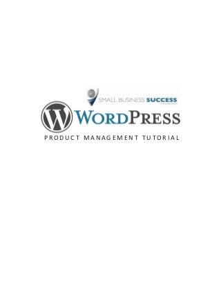 Shopp WordPress Tutorial
