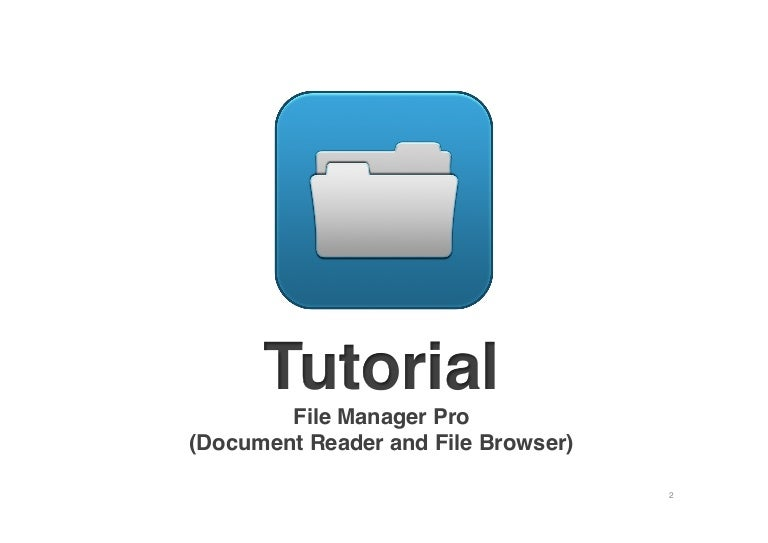 File Manager Pro for iPhone and iPad
