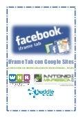 Pagina Facebook: utilizzo di un iframe tab e di google sites per costruire un welcome site [tutorial]