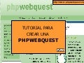 Tutorial PHPWebquest (castellano)