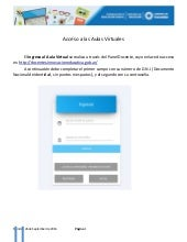 Tutorial de acceso al aula virtual CED 2016