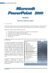 Tutorial power point 2010
