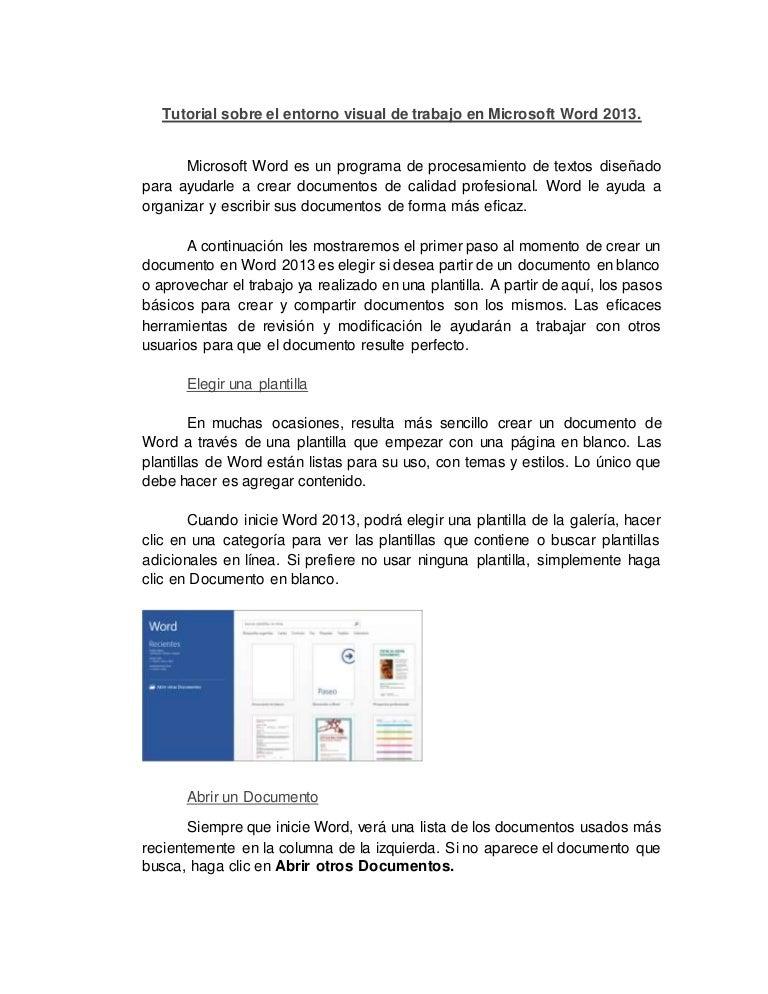 microsoft word 2013 tutorial pdf