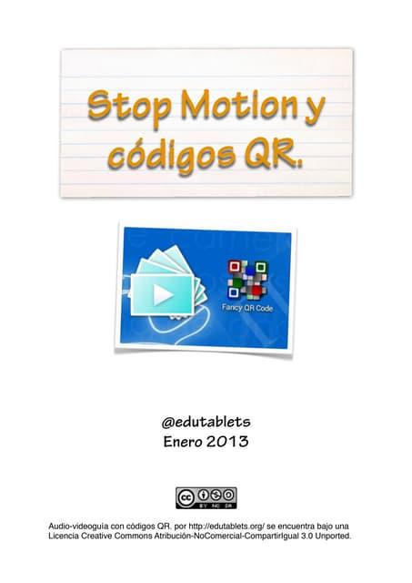 Tutorial stop motion.