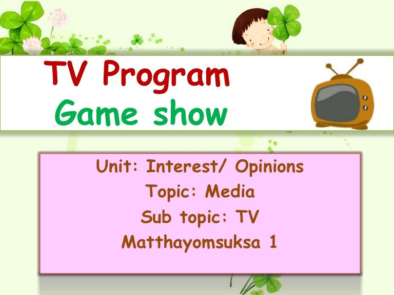 Www Tvprogram
