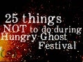 25 things NOT to do during Hungry Ghost Festival by @EricPesik