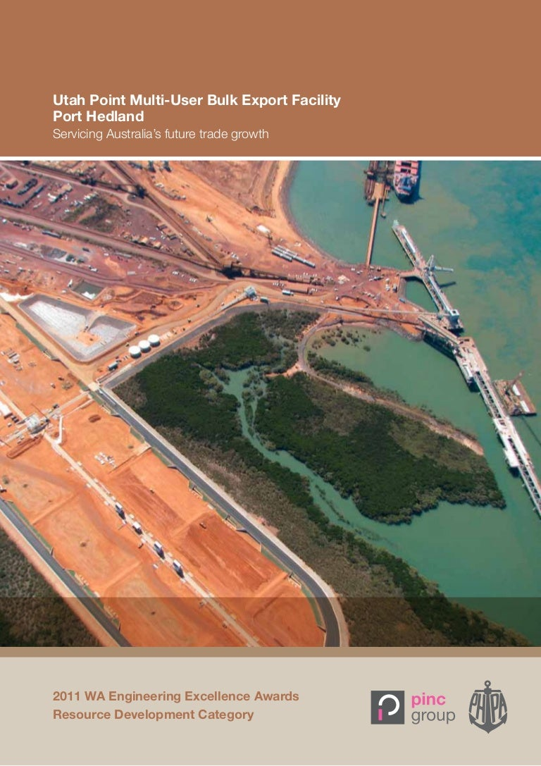 Engineering australia excellence award port hedland port authority geenschuldenfo Images