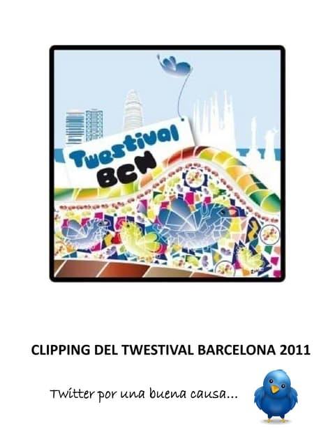 Twestival bcn 2011 clipping