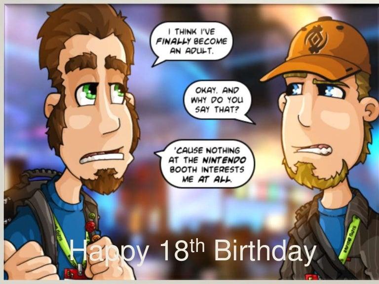 My Twin Sons 18th Birthday Card