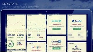 Twitter Analytics Dashboard For WordPress
