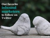 12 inbound marketers to follow on Twitter