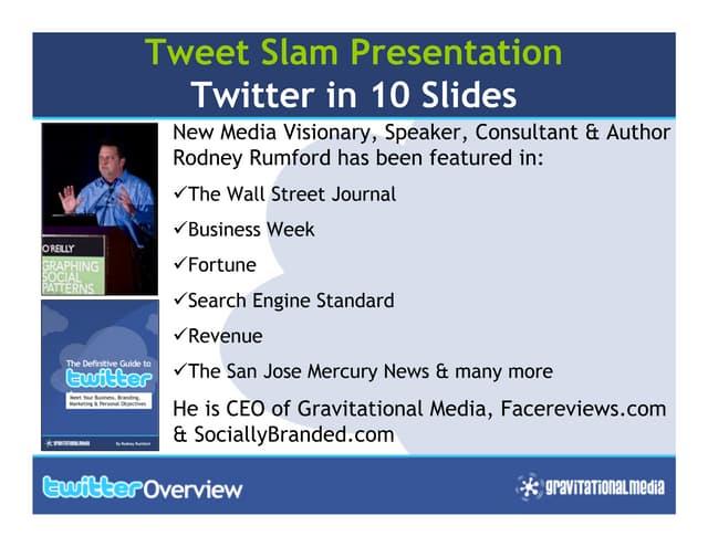 Twitter In 10 Slides Guide