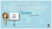 30 Random But Fascinating Facts About Twitter