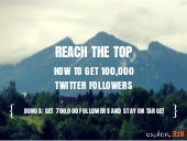 How To Get 100,000 Followers On Twitter + How To Get 700,000 Followers For Your Company!
