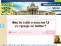 How to have a successful trending campaign in twitter