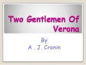 presentation on two gentlemen of verona