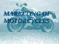 marketing of motor bikes