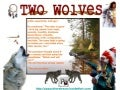 "A Cherokee Legend : ""Two Wolves"""